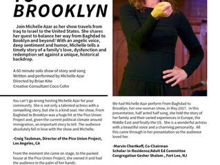 Michelle Azar goes From Baghdad to Brooklyn