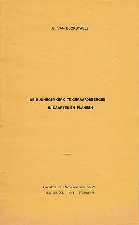 Hunnegem - In Kaarten en Plannen - 1988