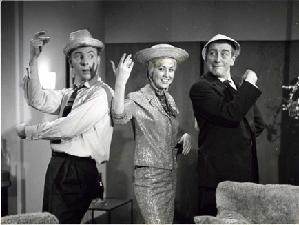 Gaston Berghmans en Frieda Linzi in Hoe zotter, hoe liever (1960)