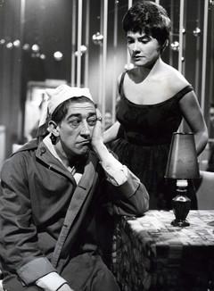 Jef Cassiers en Denise De Weerdt in Hoe zotter, hoe liever (1960)