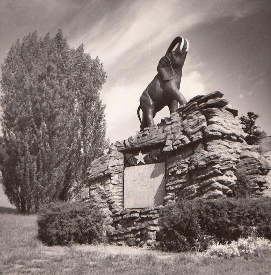 L'Haire, olifant, koloniaal monument, Geraardsbergen