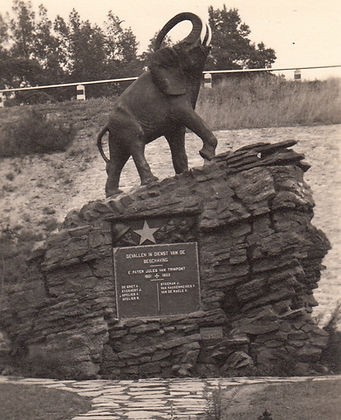 Olifant geraardsbergen Th L'Haire koloniaal monument