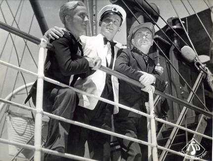 Jef Bruyninckx, Frits Vaerewijck en Pol Polus in Havenmuziek (1937)
