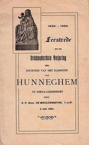 Feestrede Hunnegem 1624-1924
