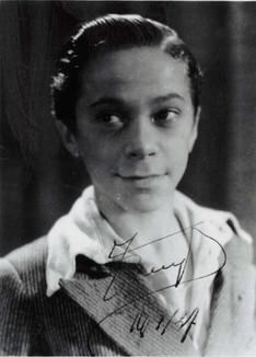 De jonge Nand Buyl in Havenmuziek (1937)