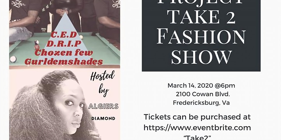 Algiers Diamond hosts Project Take 2 Fashion Show
