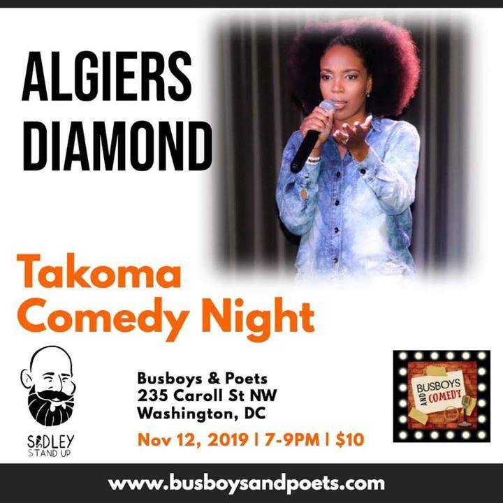 Comedy Night in Takoma