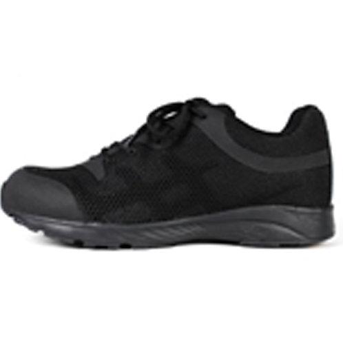 Men's 3 inch Lace Up Black Leather Tactical Shoe