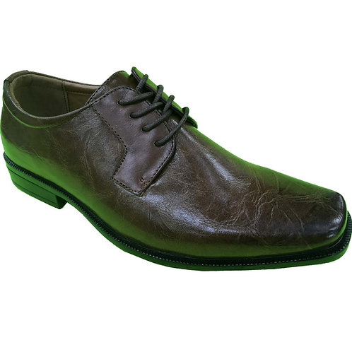 Reed Shoe Artists Republic Collection Men's Coffee Lace Up Dress Shoe
