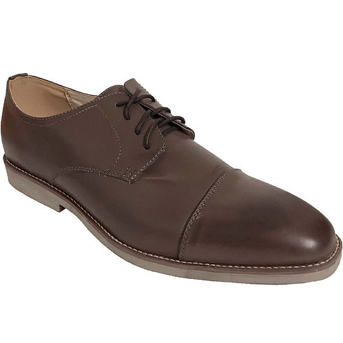 Kevin30 KRAZY Shoe Men's Coffee Cap Toe Lace-up Dress Shoe