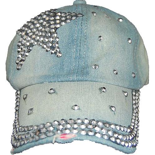 Starstruck Krazy ArtistsFashion Ladie Designer Strap-back Hat, One Size Fits All