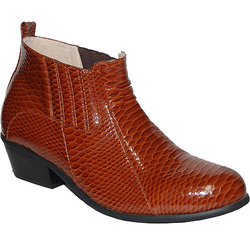 KRAZY Shoe Artists Stylish Men's Cuban Heel Boots