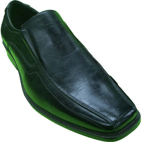 Shoe Artists Republic Collection Men's Black Loafer