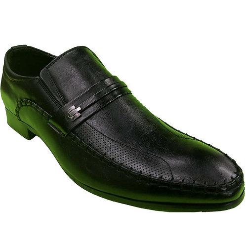Rex Shoe Artists Republic Collection Men's Black Loafer