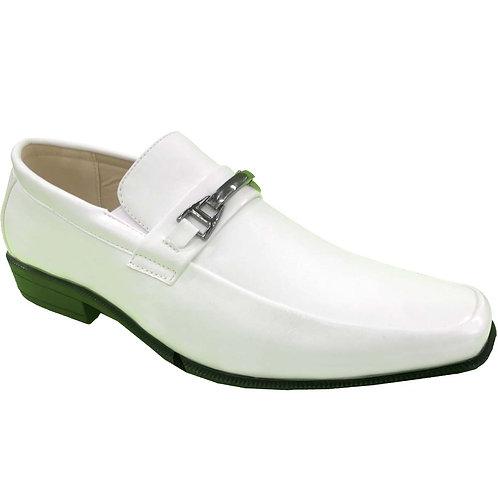 Reuben Shoe Artists Republic Collection Men's White Loafer