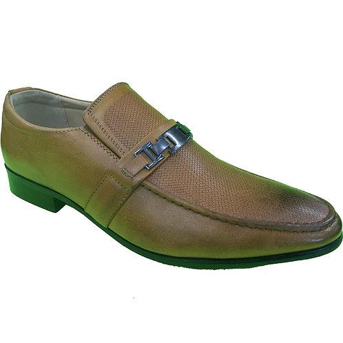 Shoe Artists Republic Collection Rensou Men's Tan Loafer
