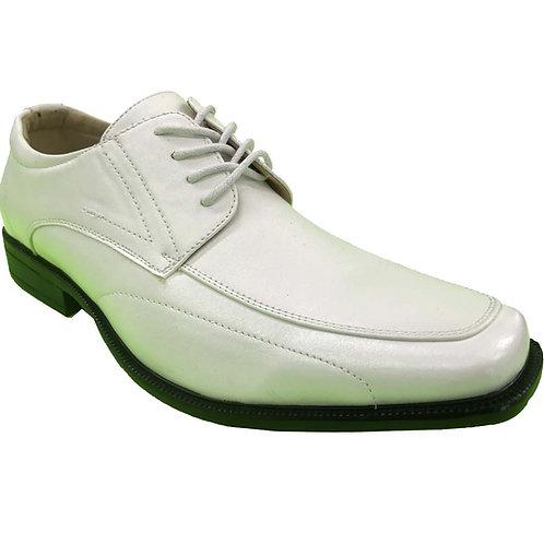 Ross Shoe Artists Republic Collection Men's Fashion White Lace up Shoe