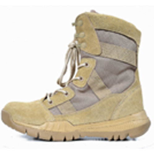 Tough Guy Men's Leather 8 inch Speed Lace Beige Combat | Tactical Boot