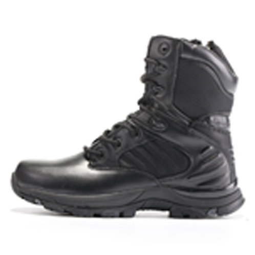 Undertaker Men's 8 inch Black Leather Lace Up with Tactical Boot