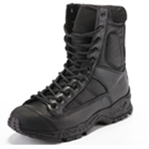 Men's 8 inch Lace Up Black Tactical, Combat Boot