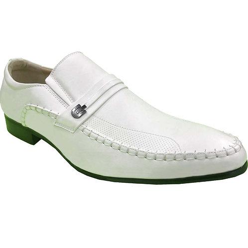 Shoe Artists Republic Collection Rex Men's Fashion White Loafer