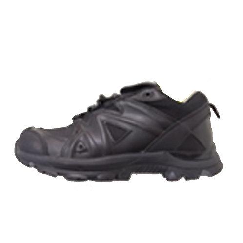 Men's 3 High Lace Up Black Leather Tactical Shoe