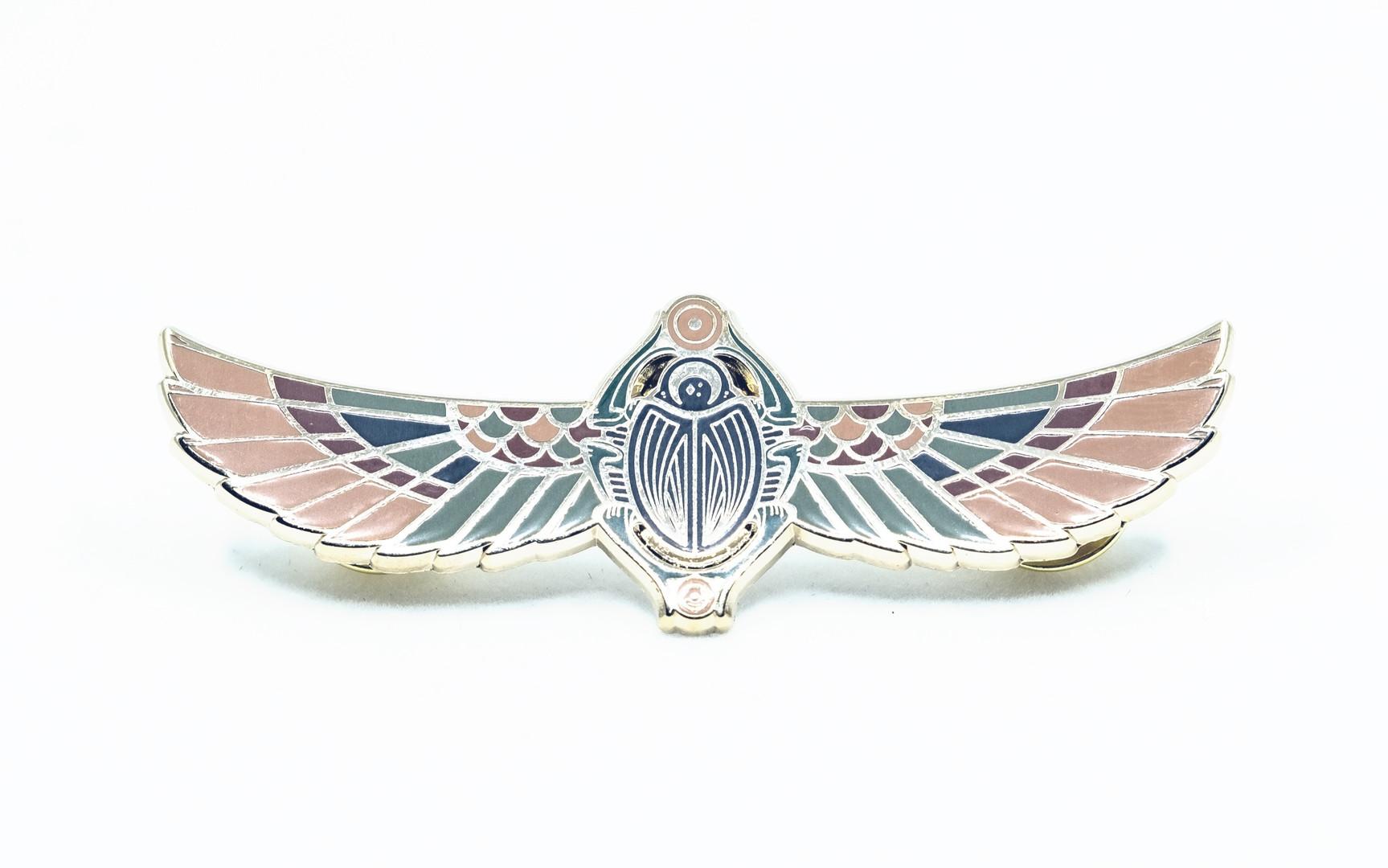 SACRED SCARAB PIN