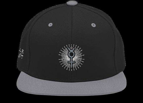 """Thought Form"" Mercury Snapback Hat"