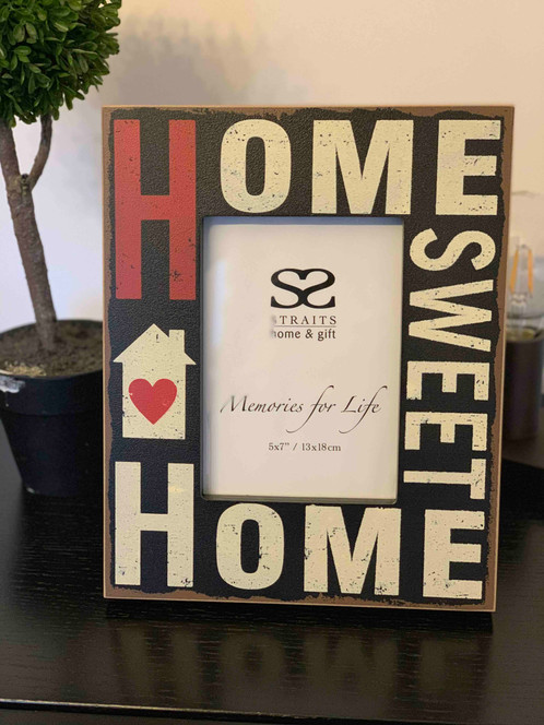 Home Sweet Home Photo Frame 7x5 Inches