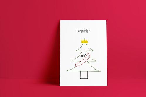 Postkaartje - kerstmiss