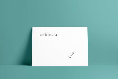 Postkaartje - beterschat