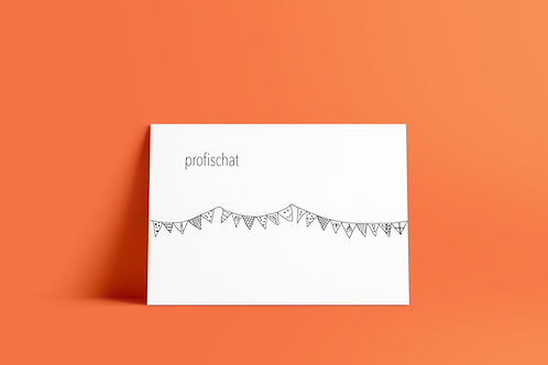 Postkaartje - profischat