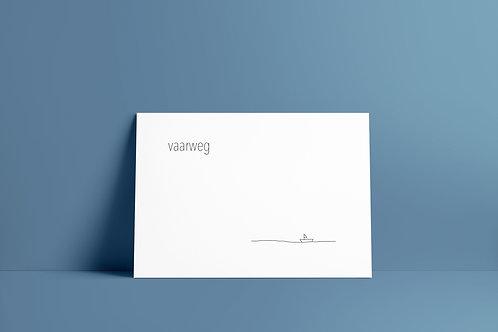 Postkaartje - vaarweg
