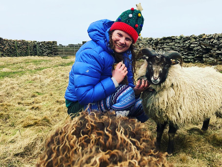 Festive Postcards from North Ronaldsay