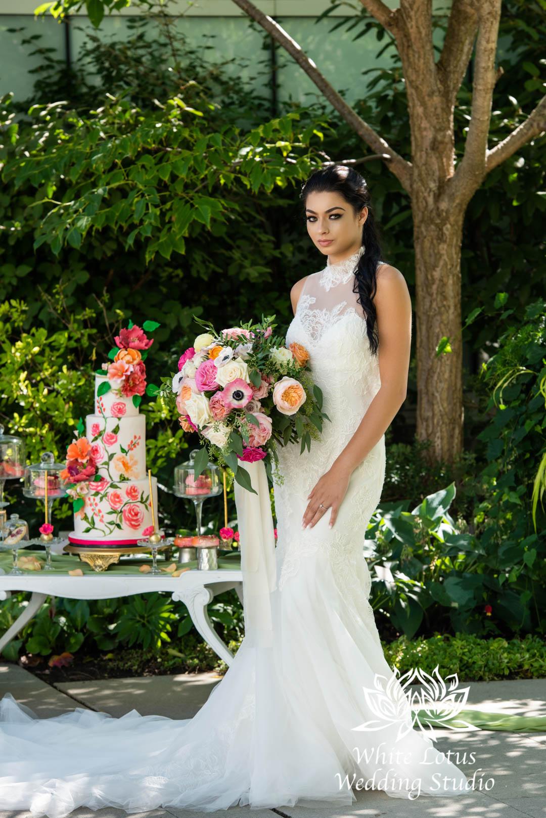 079- SPRING GARDEN WEDDING INSPIRATION