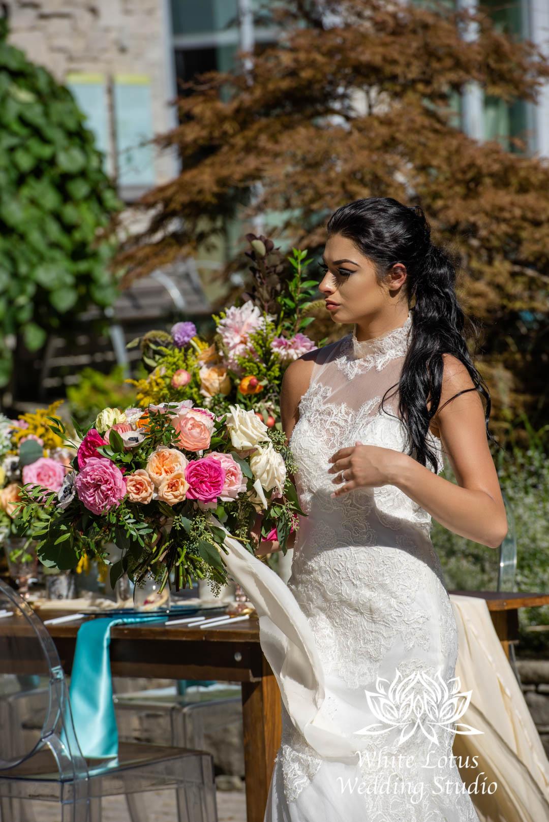 136- SPRING GARDEN WEDDING INSPIRATION