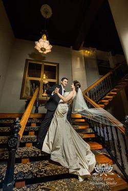 180 - Wedding - Toronto - Liberty Grand - Bride and Groom - PW