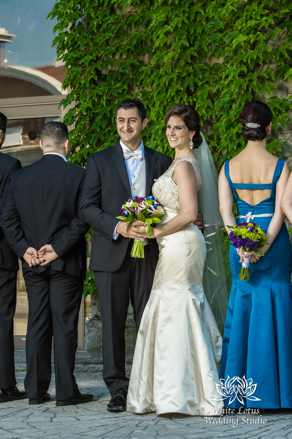 135 - Wedding - Toronto - Liberty Grand - Bridal Party - PW