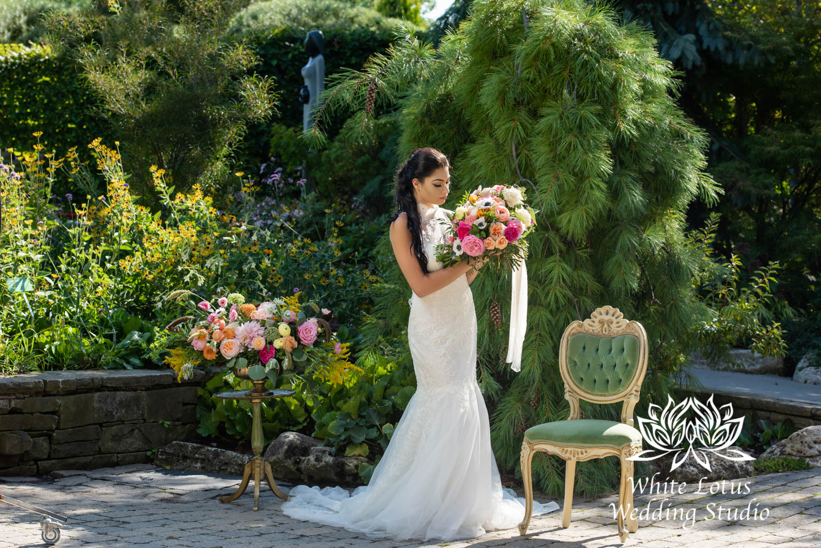 145- SPRING GARDEN WEDDING INSPIRATION