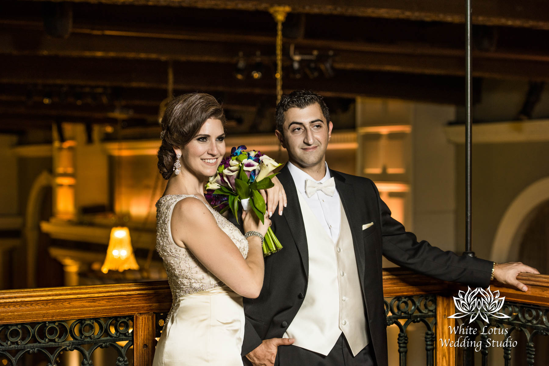 247 - Wedding - Toronto - Liberty Grand - Bride and Groom - PW
