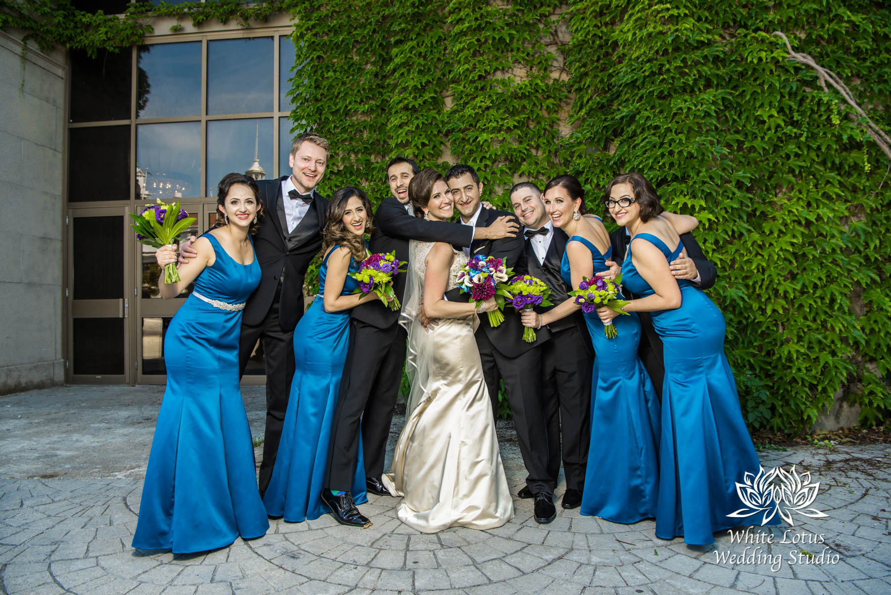 144 - Wedding - Toronto - Liberty Grand - Bridal Party - PW