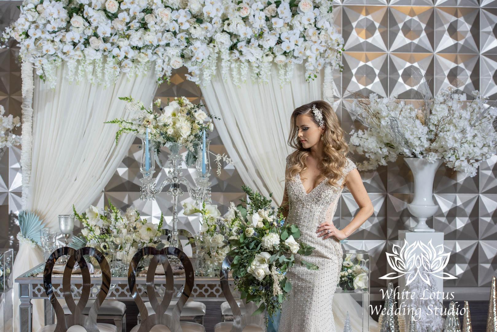 152- GLAM WINTERLUXE WEDDING INSPIRATION