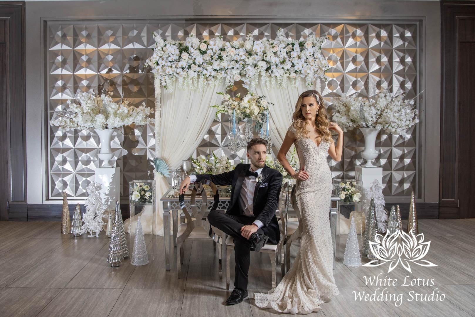 137- GLAM WINTERLUXE WEDDING INSPIRATION