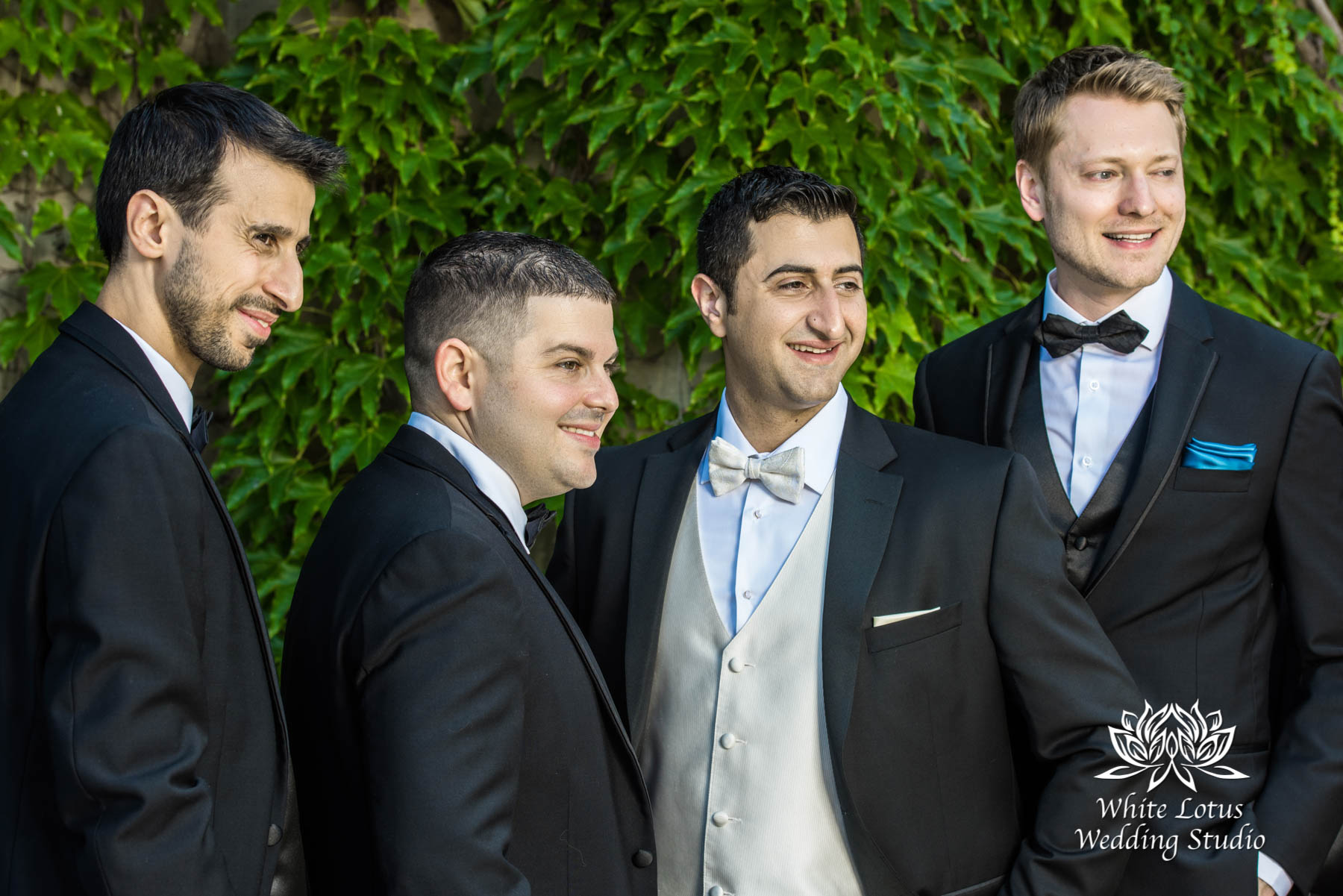 167 - Wedding - Toronto - Liberty Grand - Groomsmen - PW