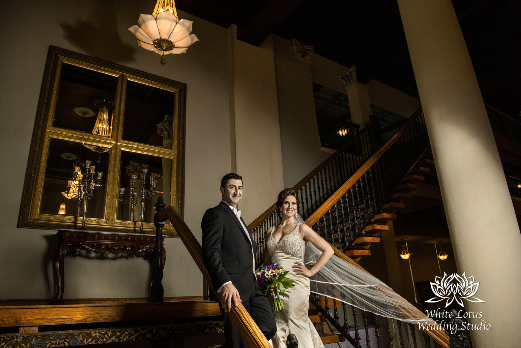 177 - Wedding - Toronto - Liberty Grand - Bride and Groom - PW