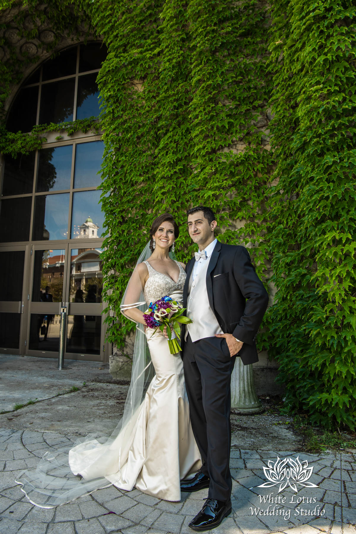 173 - Wedding - Toronto - Liberty Grand - Bride and Groom - PW