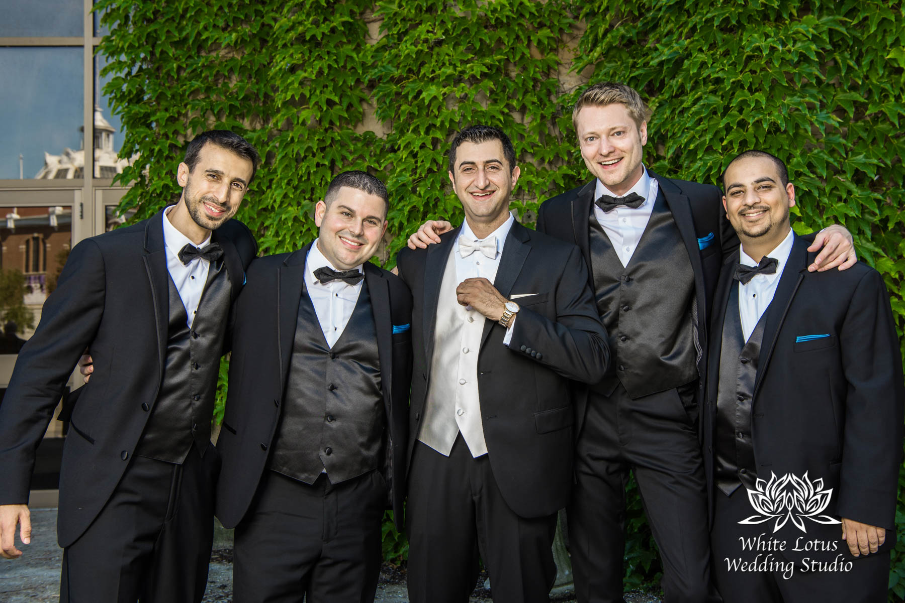 170 - Wedding - Toronto - Liberty Grand - Groomsmen - PW