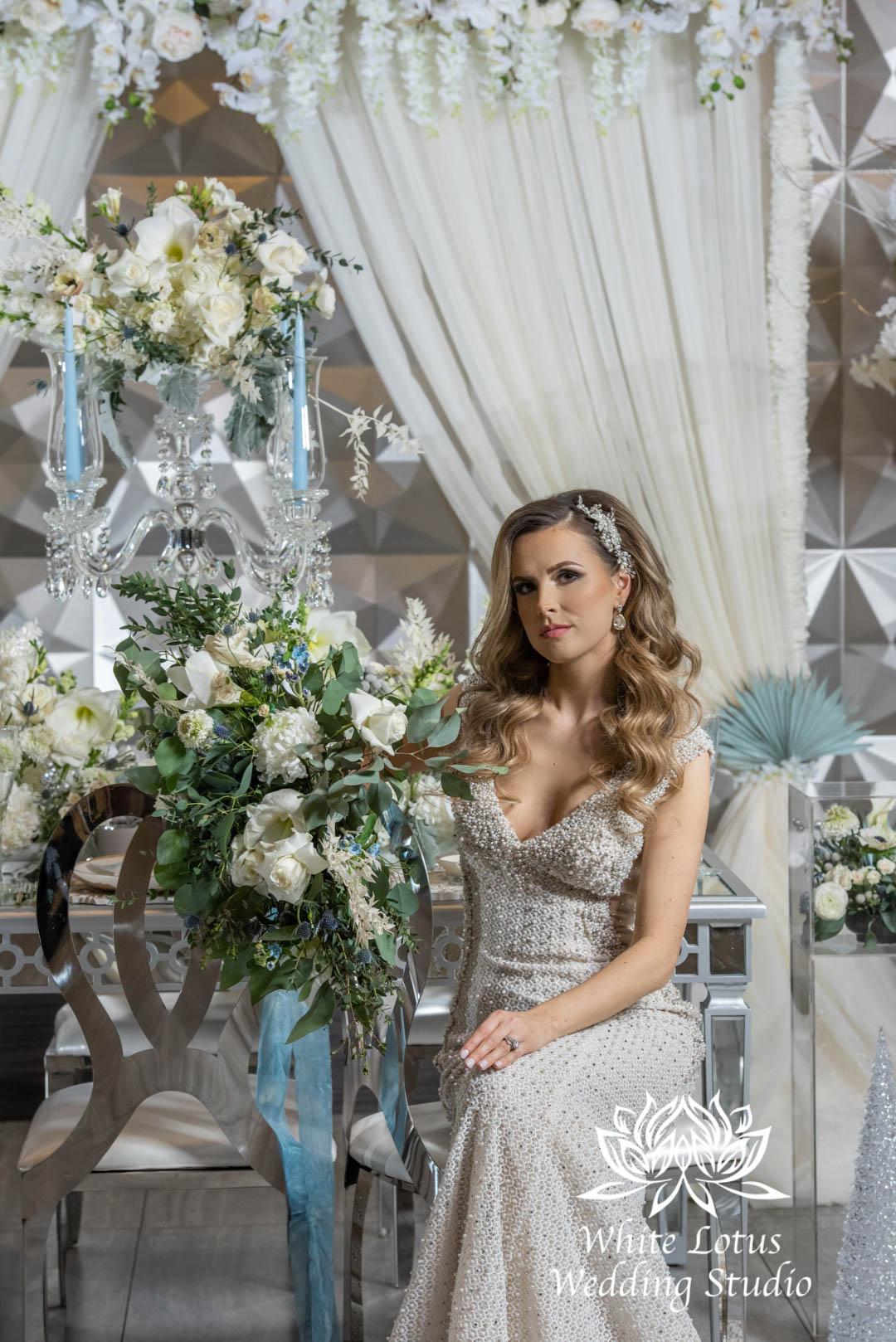 151- GLAM WINTERLUXE WEDDING INSPIRATION