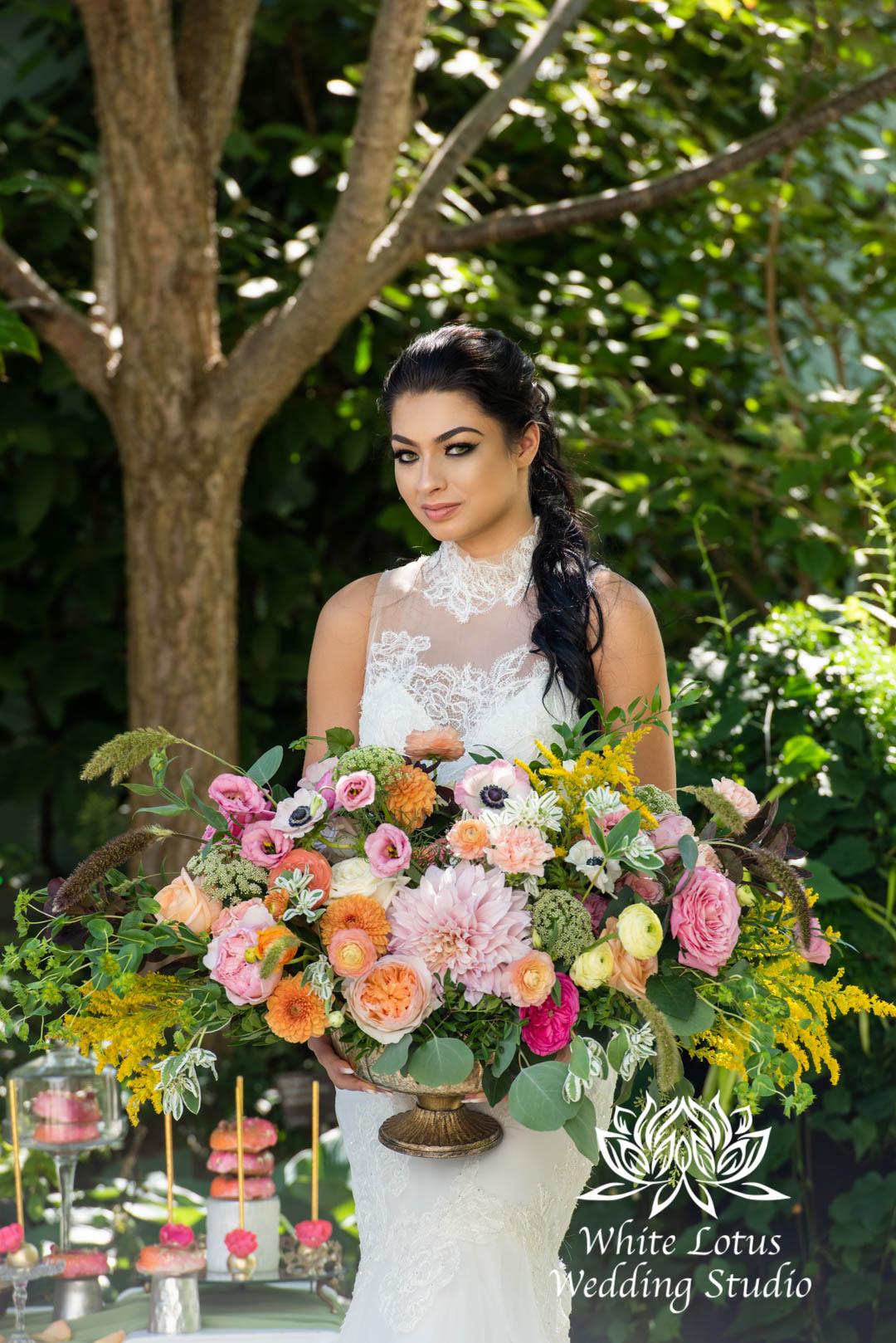 087- SPRING GARDEN WEDDING INSPIRATION