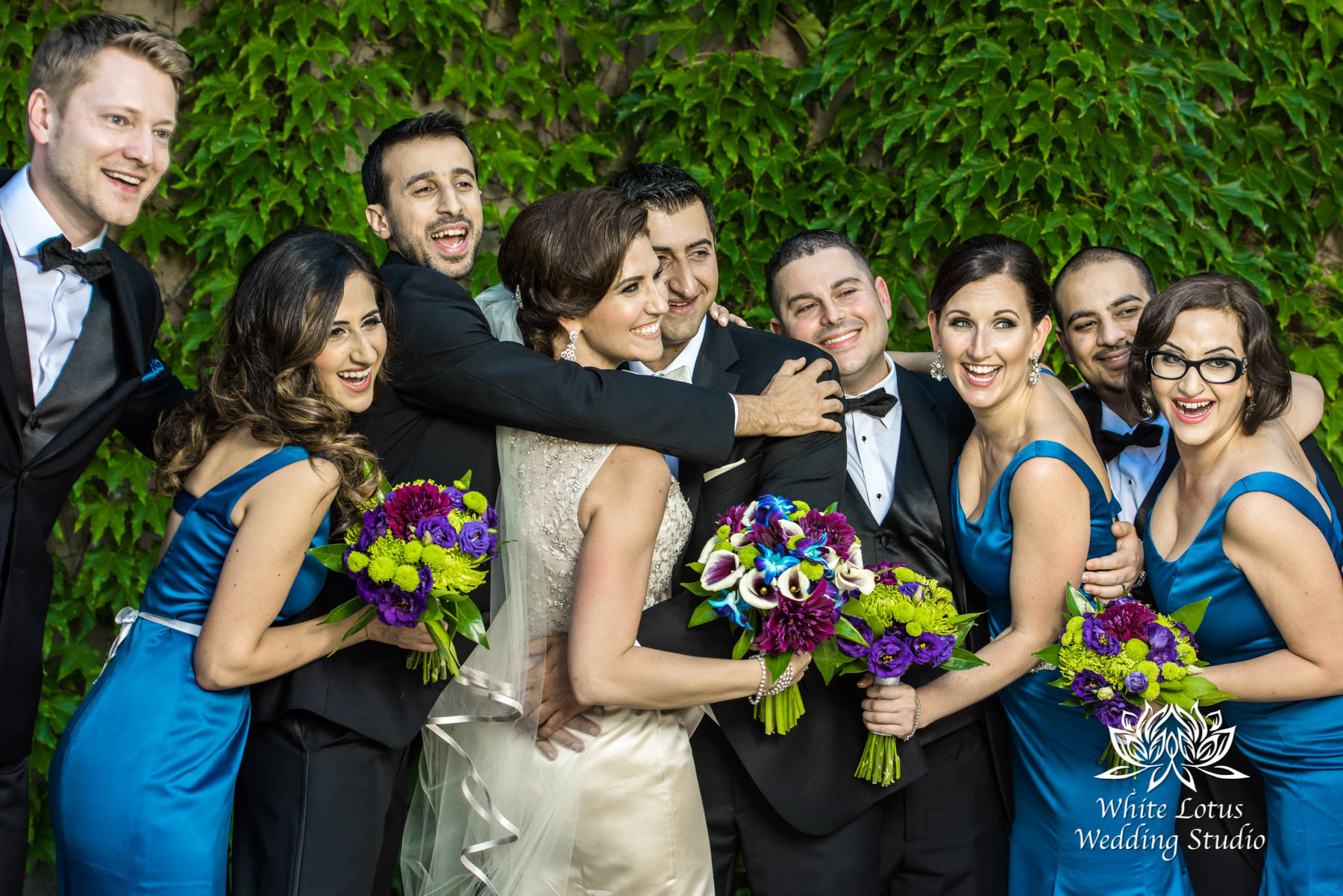 145 - Wedding - Toronto - Liberty Grand - Bridal Party - PW